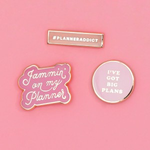 bando-planner-addict-enamel-pin-set
