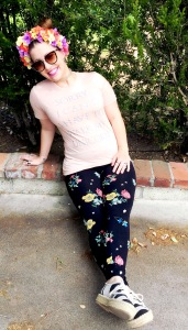 Old Navy Floral Leggings, Dolce Vita for Target Espadrilles