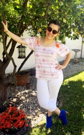 Mossimo Tassel Top, Lucky Brand Jeans, Chinese Laundry Booties