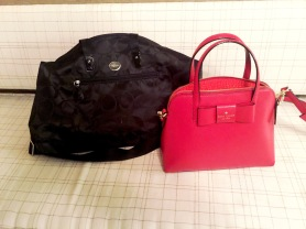 Kate Spade Bow Purse, Coach Weekend Bag