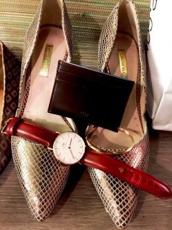 Louise et Cie Heels, Daniel Wellington accessories