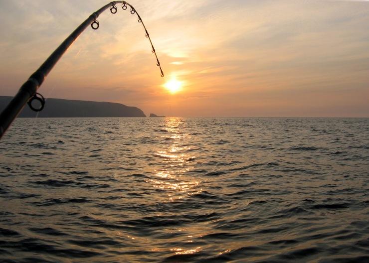 Fishing at sunset on the Donegal coast (© John Rafferty Photography)