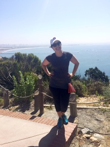 Conquered Cabrillo National Monument with my Cubbies hat